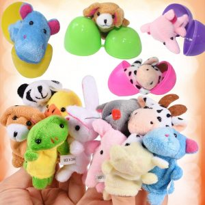 Easter Egg finger puppets