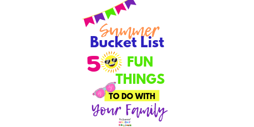 50 fun things to do with your family this Summer