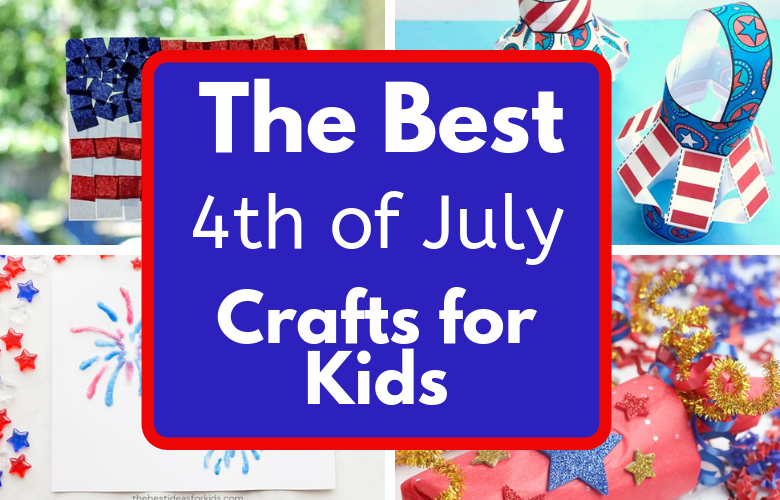 The best 4th of July Crafts for Kids