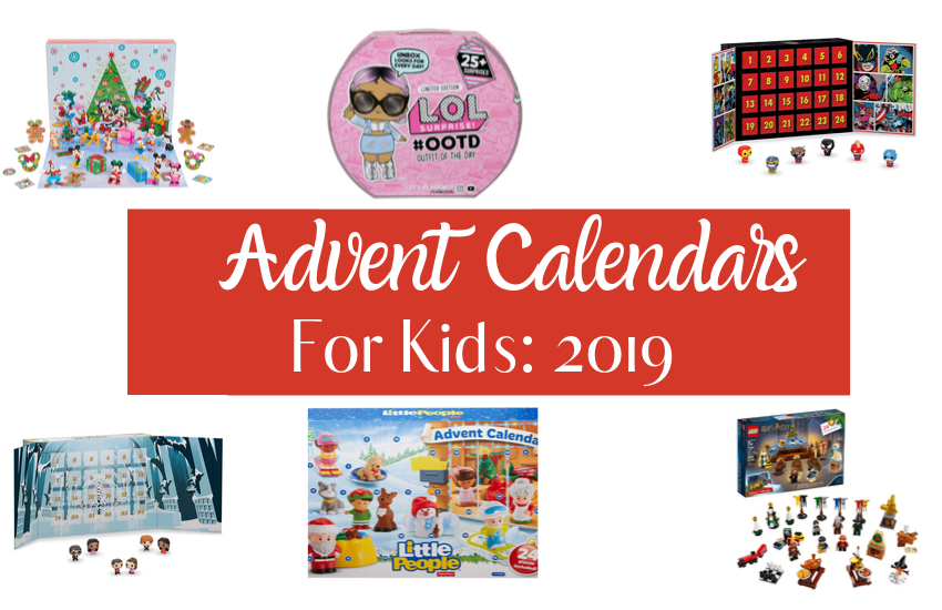 The Best Advent Calendars For Kids 2019