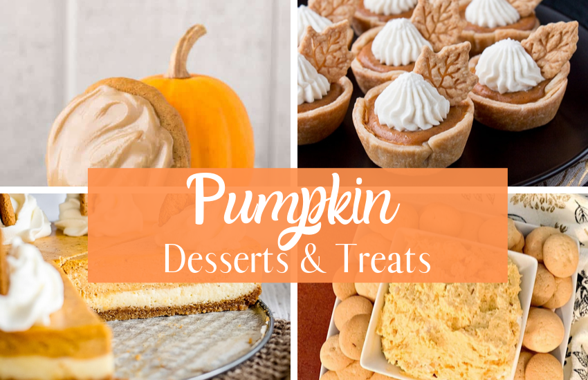 Simple and Delicious Pumpkin Desserts and Treats
