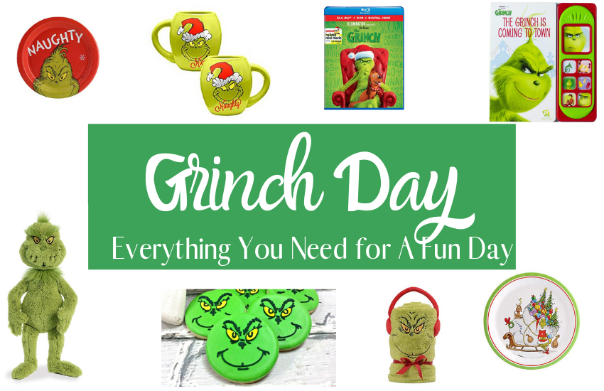 Everything You Need For a Grinch Themed Day