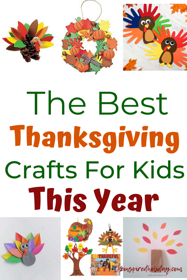 Thanksgiving Crafts To Do With Kids This Year