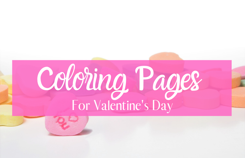 A BEARY Fun Printable Valentine's Day Coloring Book