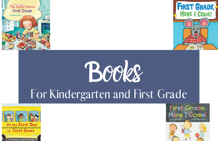 The Best Books For Kindergarten and First Graders