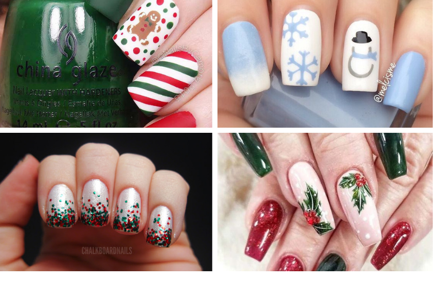 Stunning Christmas Nail Designs and Holiday Manicure Ideas To Try This Year