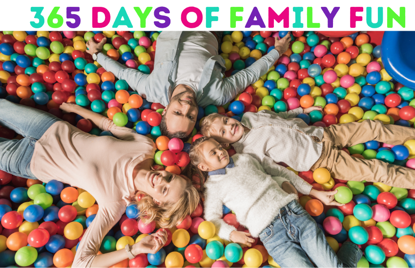 A FULL Year of Family Fun: A Month by Month Guide To Making Memories Together!
