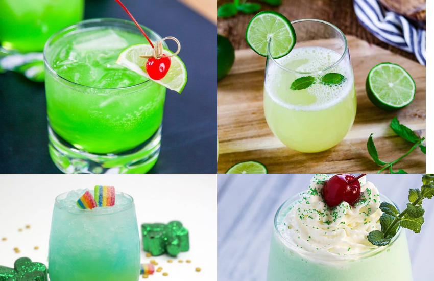 St. Patrick's Day Cocktails And Mocktails That Are Not Beer