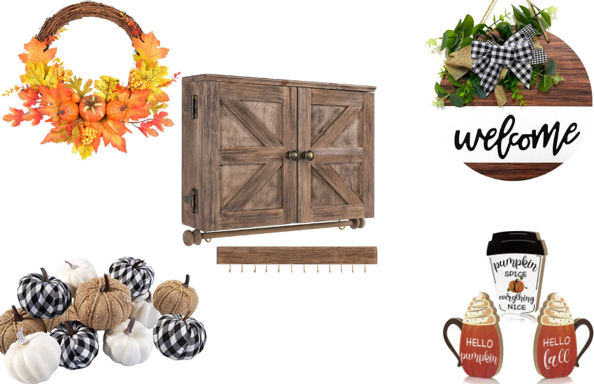 The Best Fall Decor Finds On Amazon