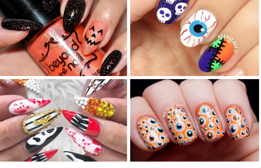 Spooky Yet Sassy Halloween Nail Designs You Must See To Believe